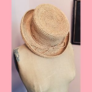 Accessories - Straw Woven Hat